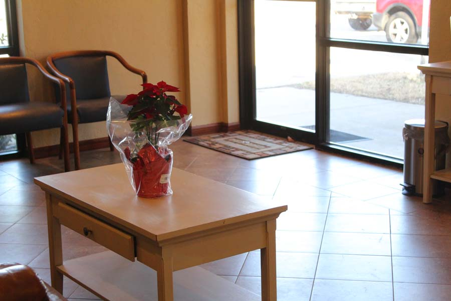 Nicoma Park Dental lobby table