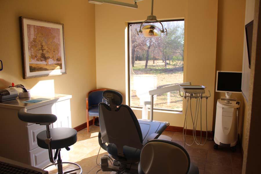 Nicoma treatment room window | Nicoma Park